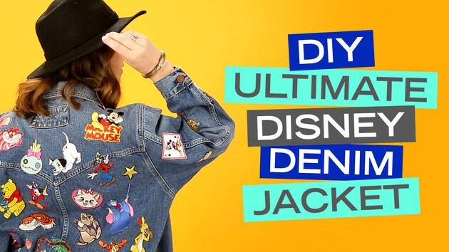 Ultimate Disney Patch Denim Jacket | Disney Style