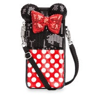 Image of Minnie Mouse Sequined Smartphone Case # 1
