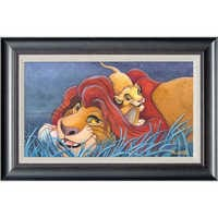 Image of The Lion King ''Father and Son'' Giclée by Michelle St.Laurent # 1