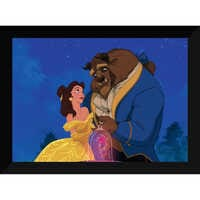 Image of ''Beauty and the Beast Dancing'' Giclé # 6