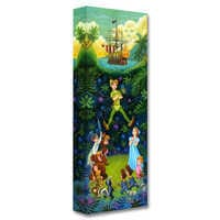 Image of Peter Pan ''The Hero of Never Land'' Giclée by Tim Rogerson # 1