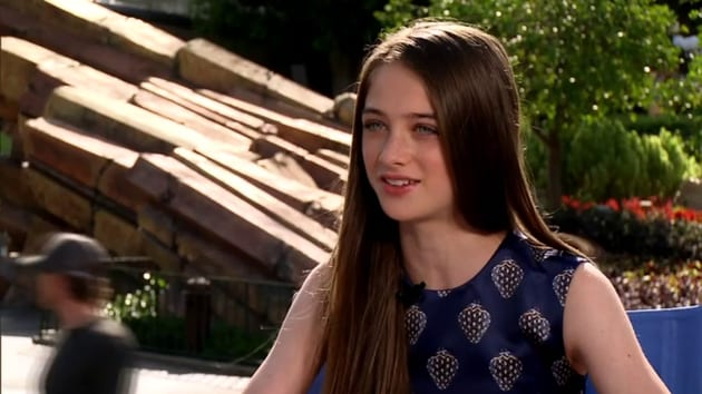 Raffey Cassidy (Athena) | Tomorrowland