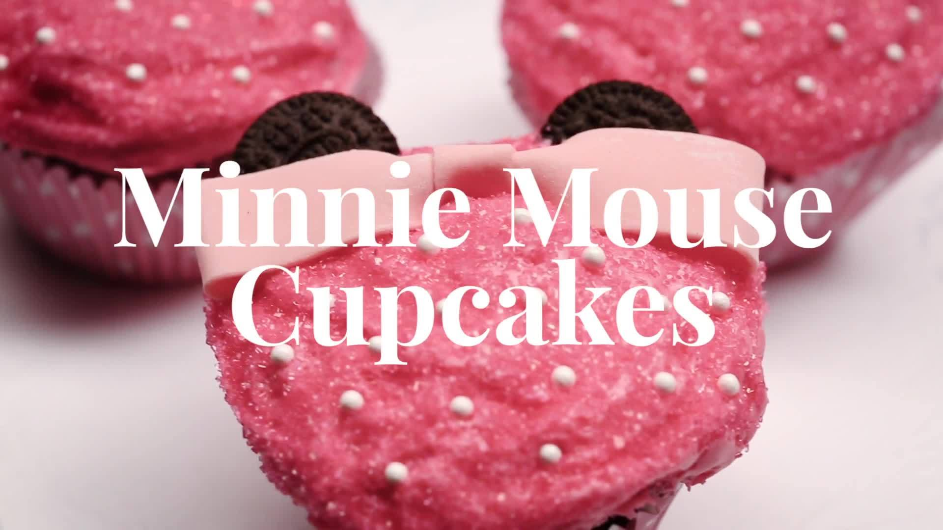 Minnie Mouse Cupcakes Dishes by Disney Disney Video
