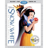 Image of Snow White and the Seven Dwarfs Blu-ray Combo Pack # 1