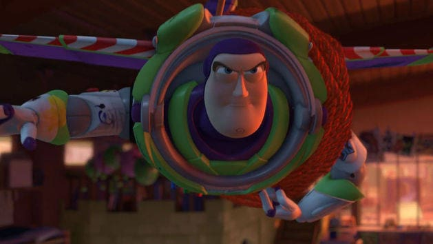 O voo de Buzz - Toy Story 3