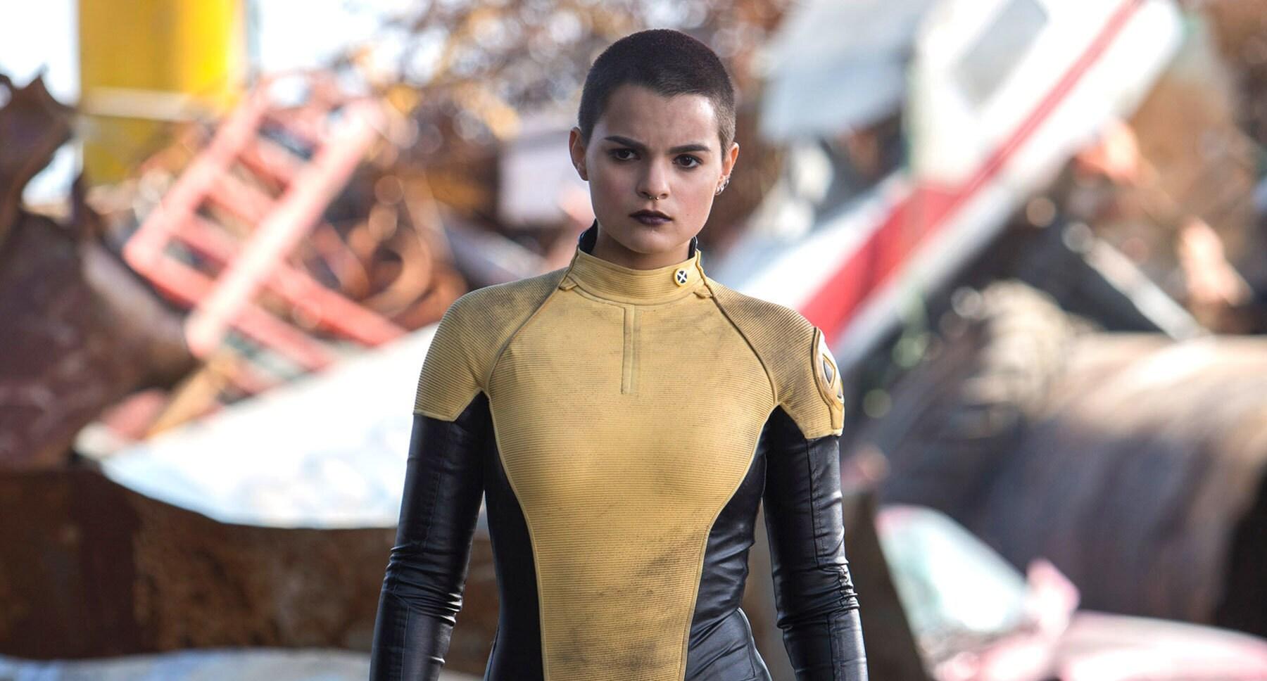 "Brianna Hildebrand (Negasonic Teenage Warhead) in ""Deadpool"""