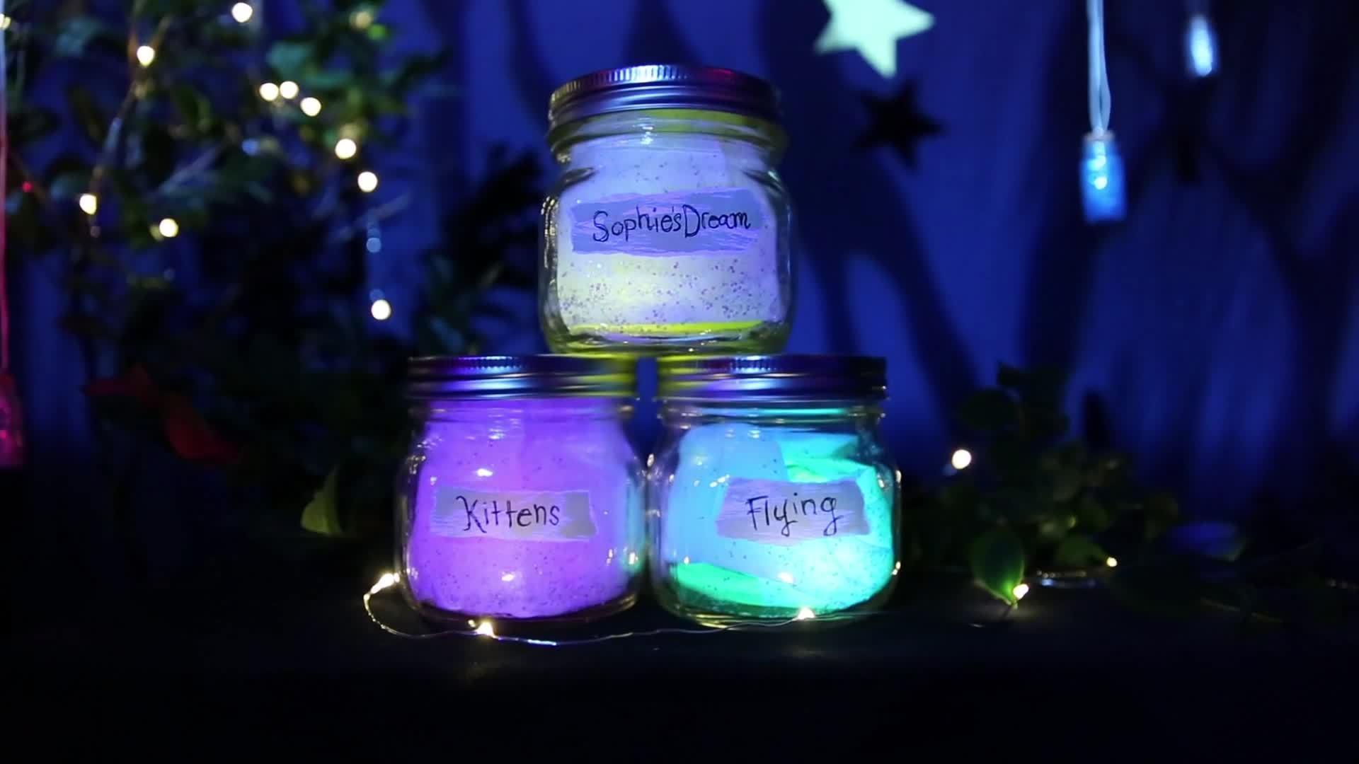 BFG Dream Jars | Disney DIY