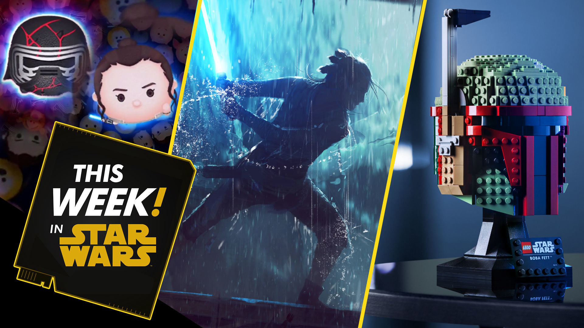 Behind the Scenes of Star Wars: The Rise of Skywalker, LEGO Bucketheads, and More!
