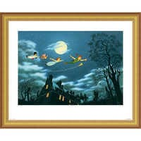 Image of Peter Pan ''And Away They Flew to Never Land'' Giclé # 3