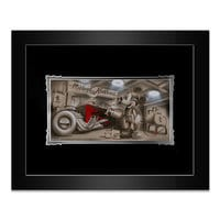 Mickey Mouse ''She's Gonna Be Pretty'' Framed Deluxe Print by Noah