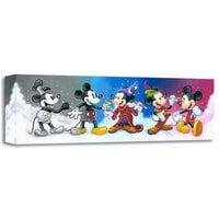 Image of ''Mickey's Creative Journey'' Giclée on Canvas by Tim Rogerson # 1