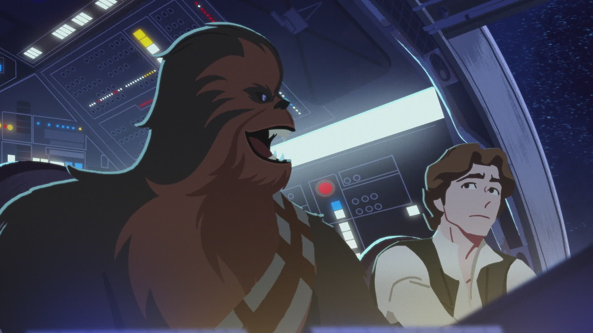 Chewbacca - The Trusty Co-Pilot | Star Wars Galaxy of Adventures