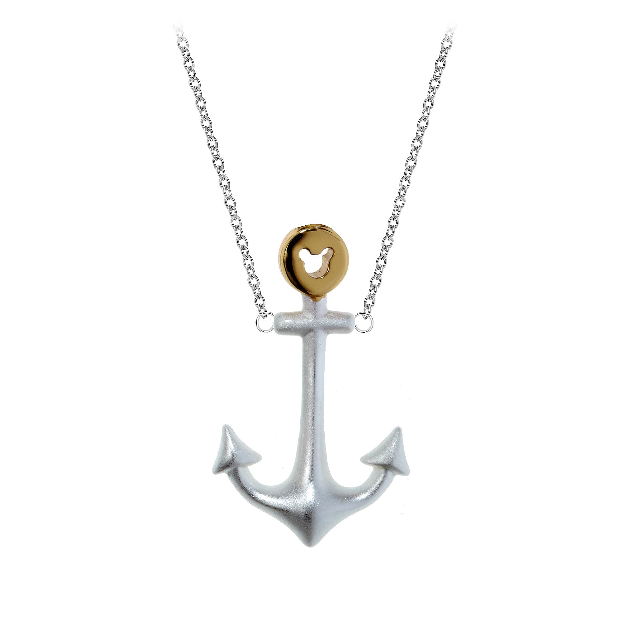 pendant anchor collections womens stella necklace beige chain s women golden products