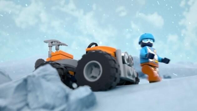 LEGO® City Arktis-Frachtflugzeug