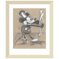 Image of Mickey Mouse ''Steamboat Willie'' Giclée by Eric Robison # 4