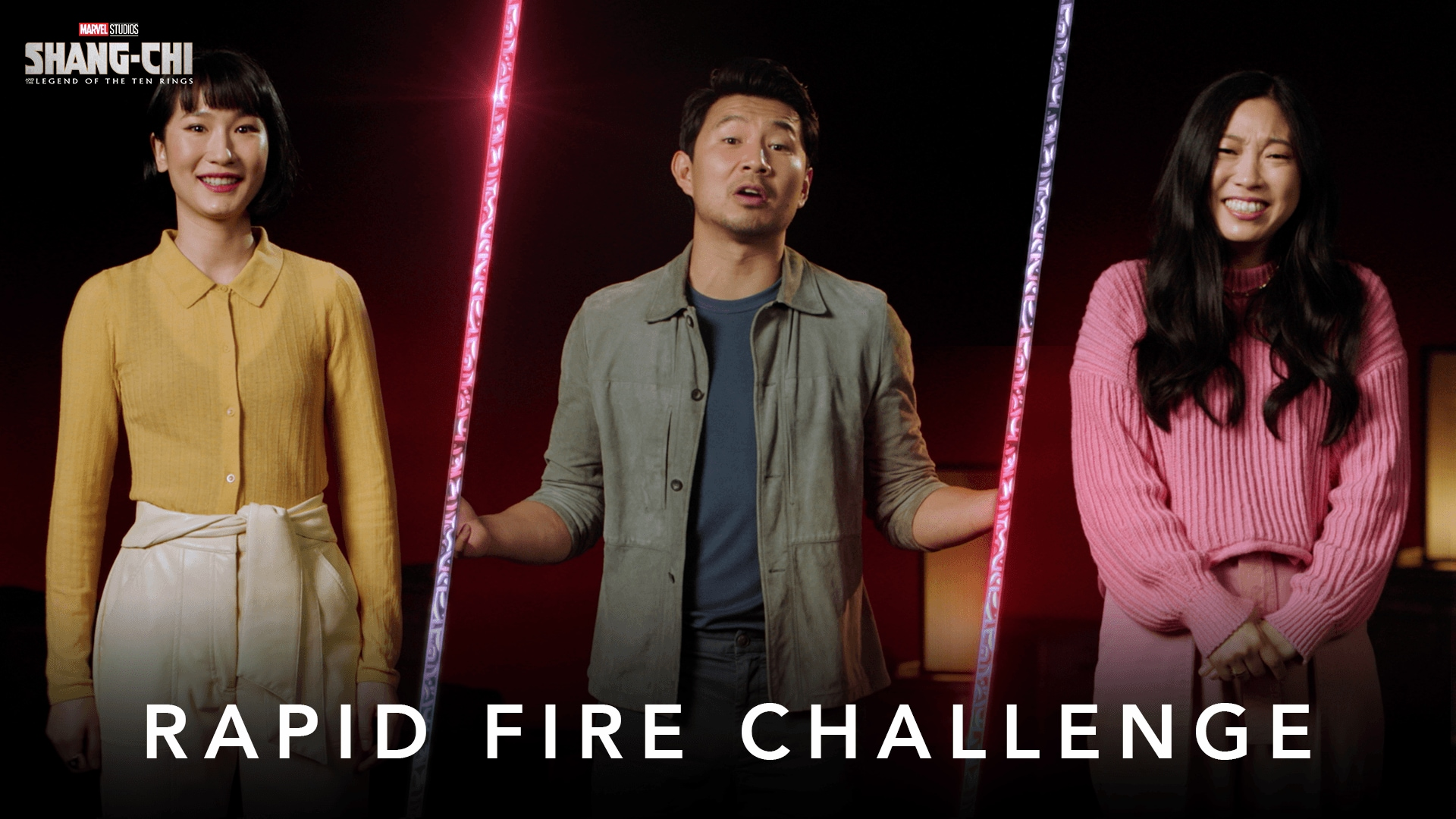 Rapid Fire Challenge   Marvel Studios' Shang-Chi and The Legend of The Ten Rings