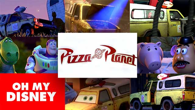 Can You Spot Pixar's Pizza Planet Truck?