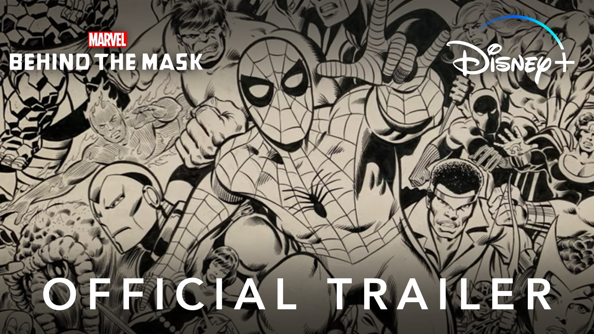 Official Trailer | Marvel's Behind the Mask | Disney+