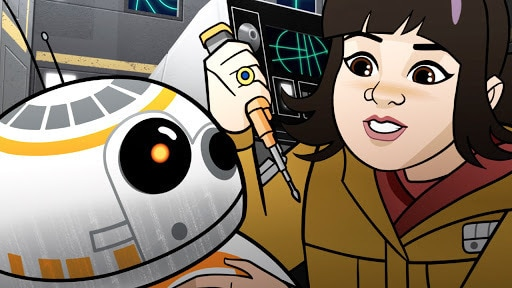 Star Wars Forces of Destiny | Shuttle Shock | Disney