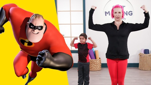 The Incredibles | Get Moving With Disney Family by Disney Family