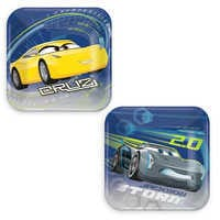 Image of Cars 3 Dessert Plates # 1