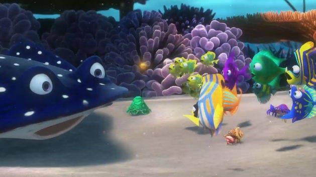 Finding Nemo Characters Mr Ray Mr. Ray | Disne...
