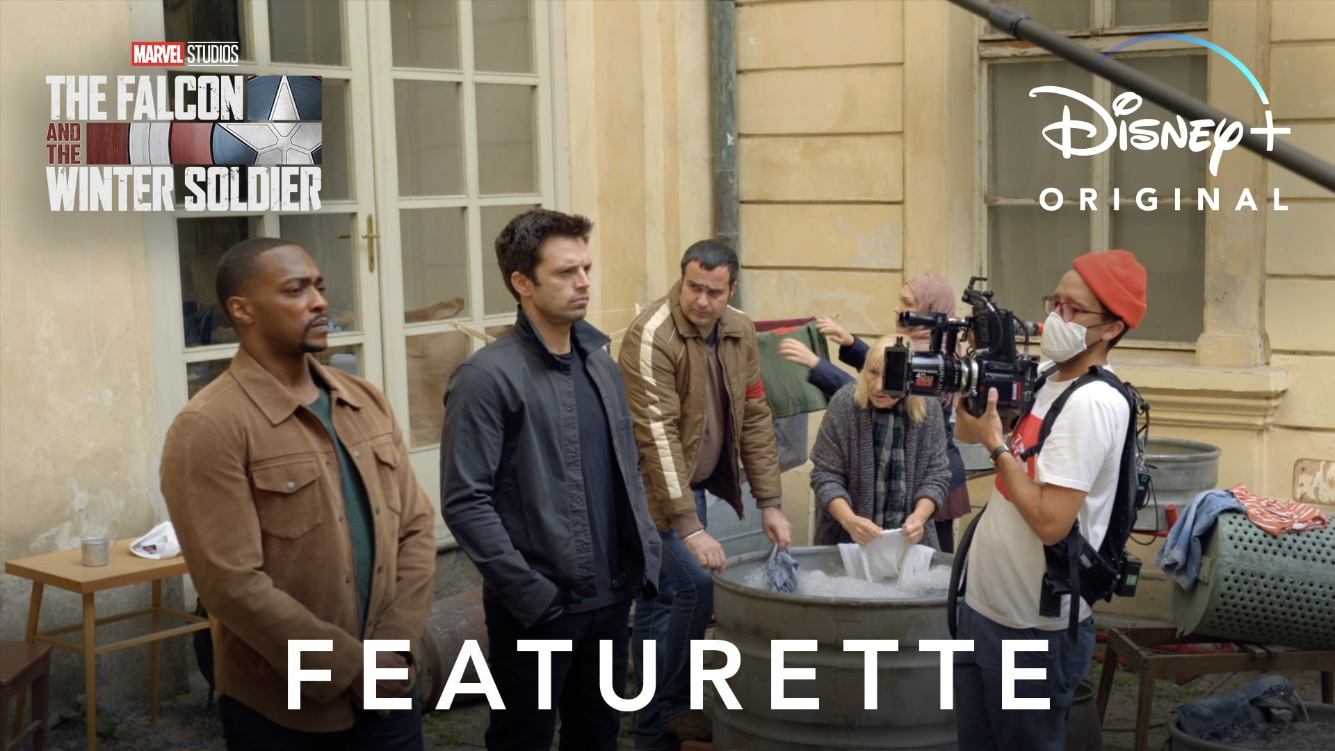 Co-workers Featurette | The Falcon and the Winter Soldier | Disney+