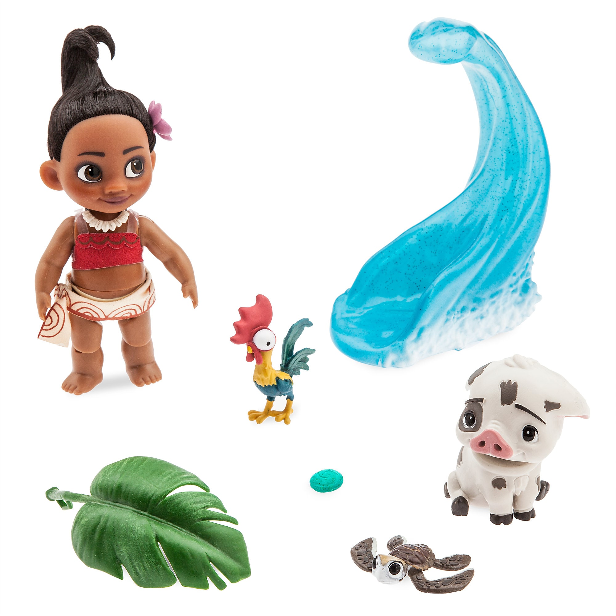 Disney Animators' Collection Moana Mini Doll Play Set