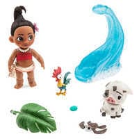 Image of Disney Animators' Collection Moana Mini Doll Play Set # 1