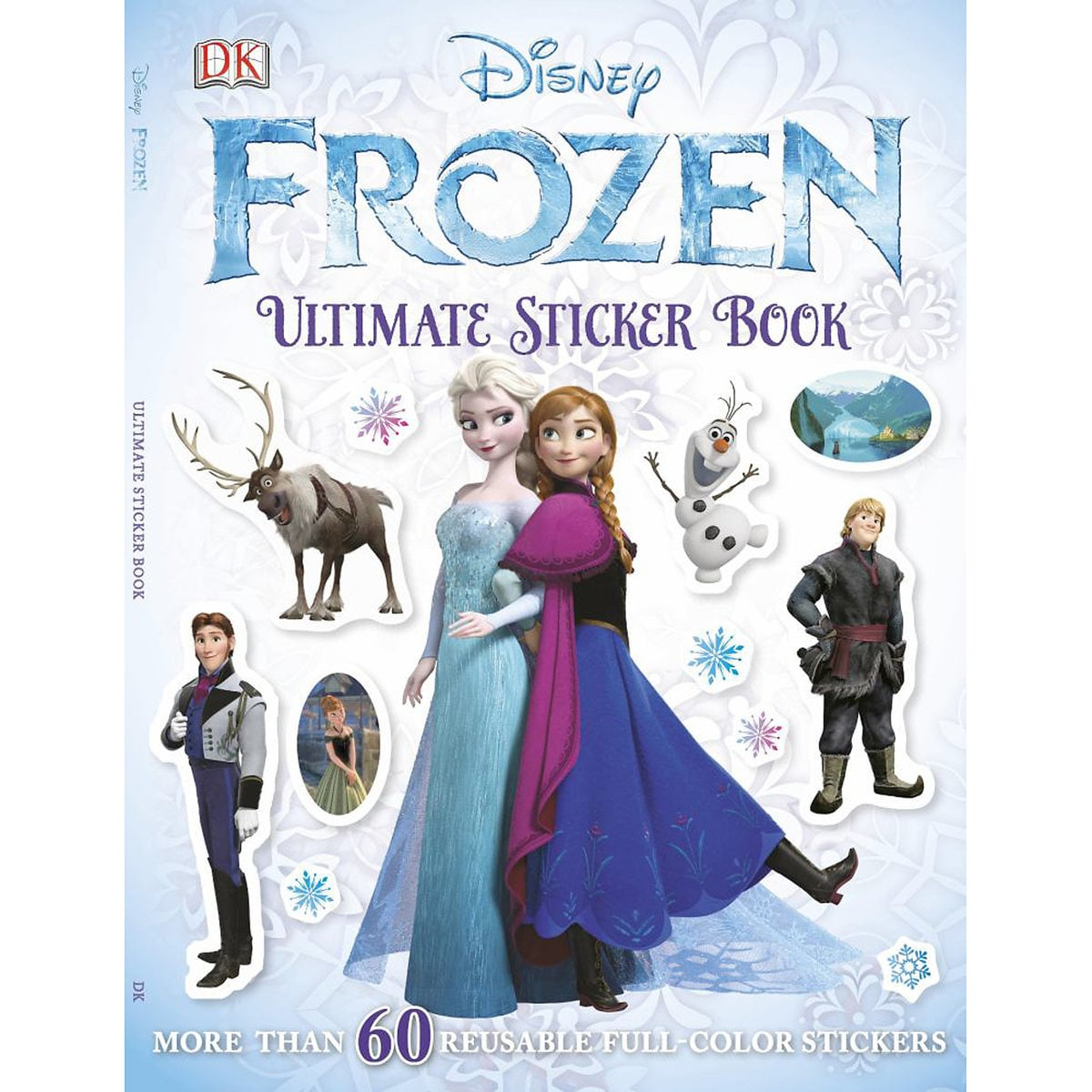 Frozen Ultimate Sticker Book for toddlers and preschoolers | Top 25 Disney Gift Ideas for Toddlers featured by top US Disney blogger, Marcie and the Mouse