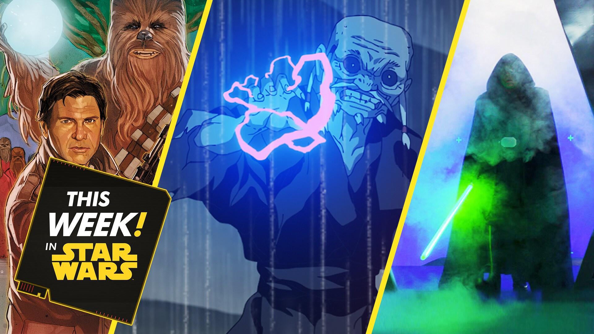 Star Wars: Visions Sneak Peek, The Bad Batch Season 1 Finale, and More!
