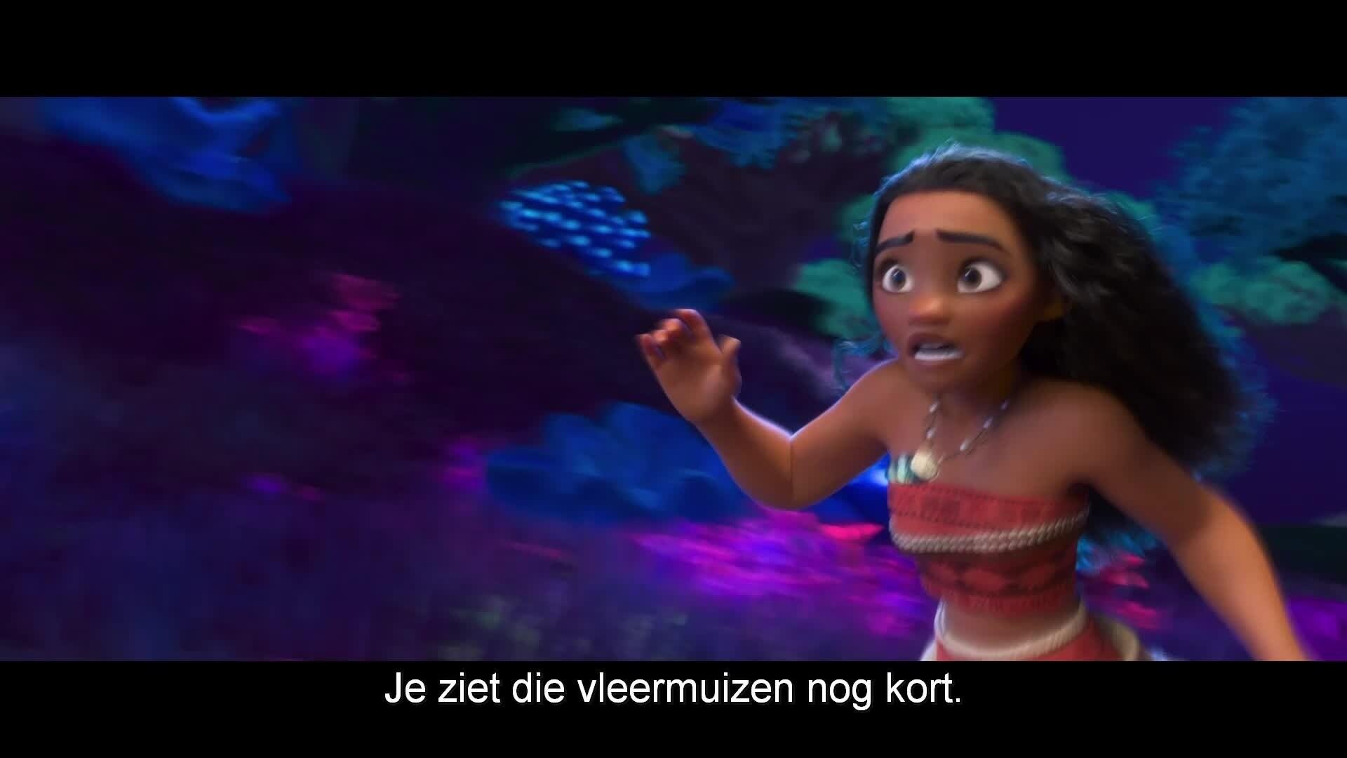 Vaiana | Deleted scene: De achtogige vleermuis (NL ondertiteld)