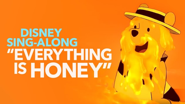 Everything Is Honey Sing Along Winnie The Pooh Lyric Video
