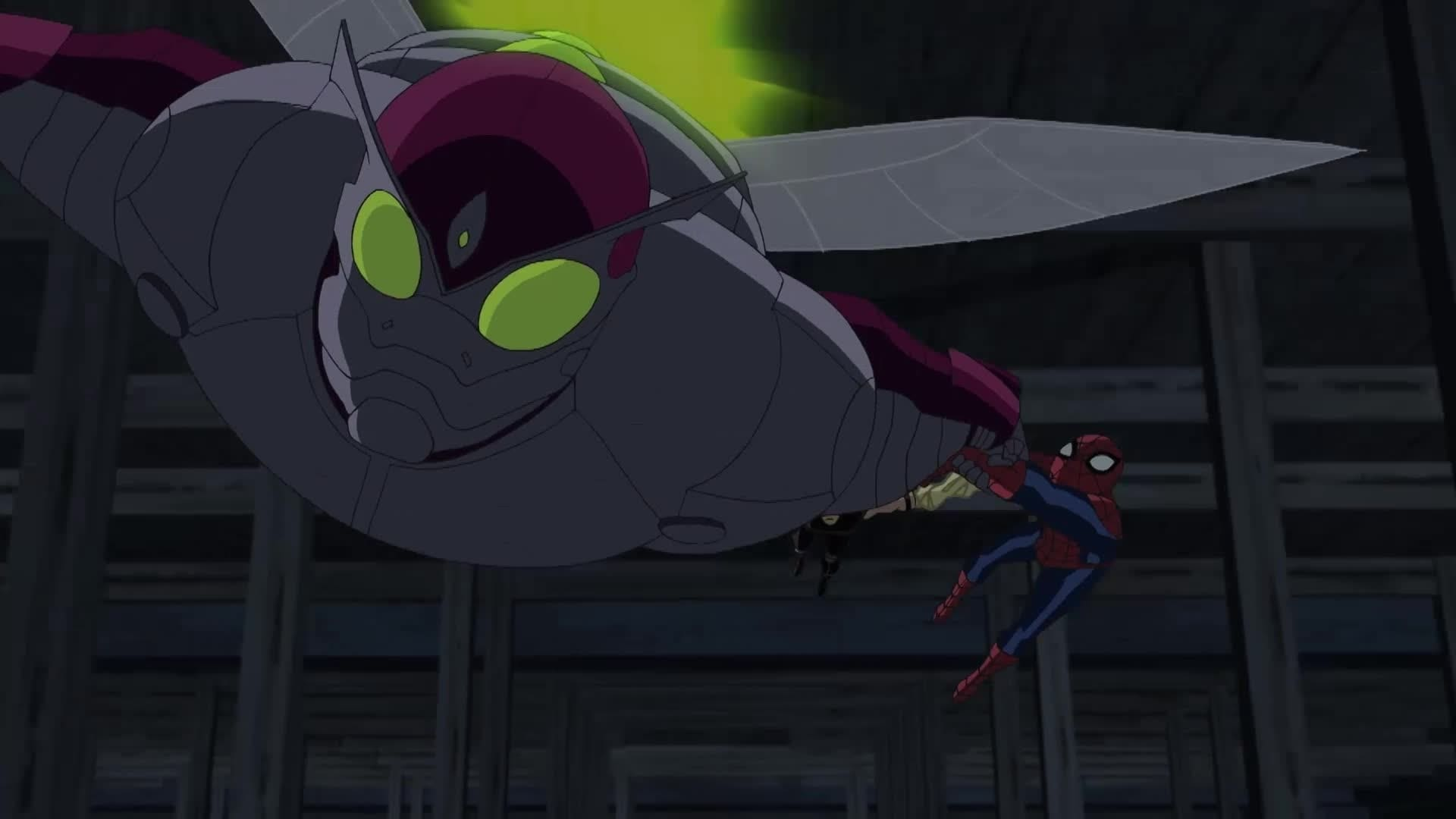 Ultimate Spider-Man - Vastgeplakt