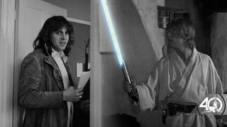 Star Wars at 40 | Roger Christian on Forging the Lightsaber, Han's Blaster, and More from Star Wars: A New Hope