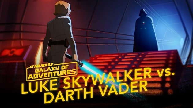 Luke Skywalker vs. Darth Vader – Join Me | Star Wars Galaxy of Adventures