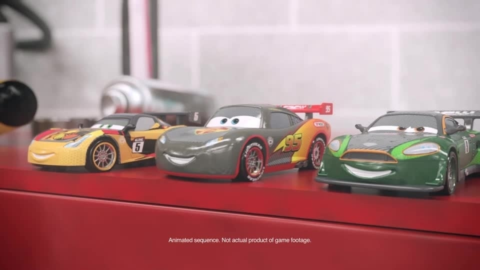 Cars Shorts: Die Cast Autos treten an in der Garage