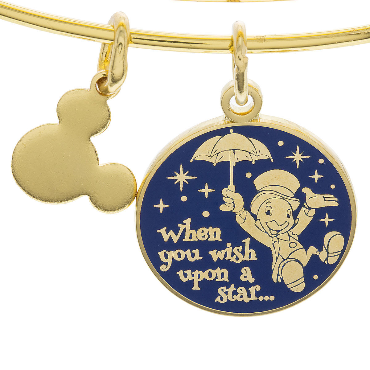 Jiminy Cricket When You Wish Upon A Star Bangle By Alex
