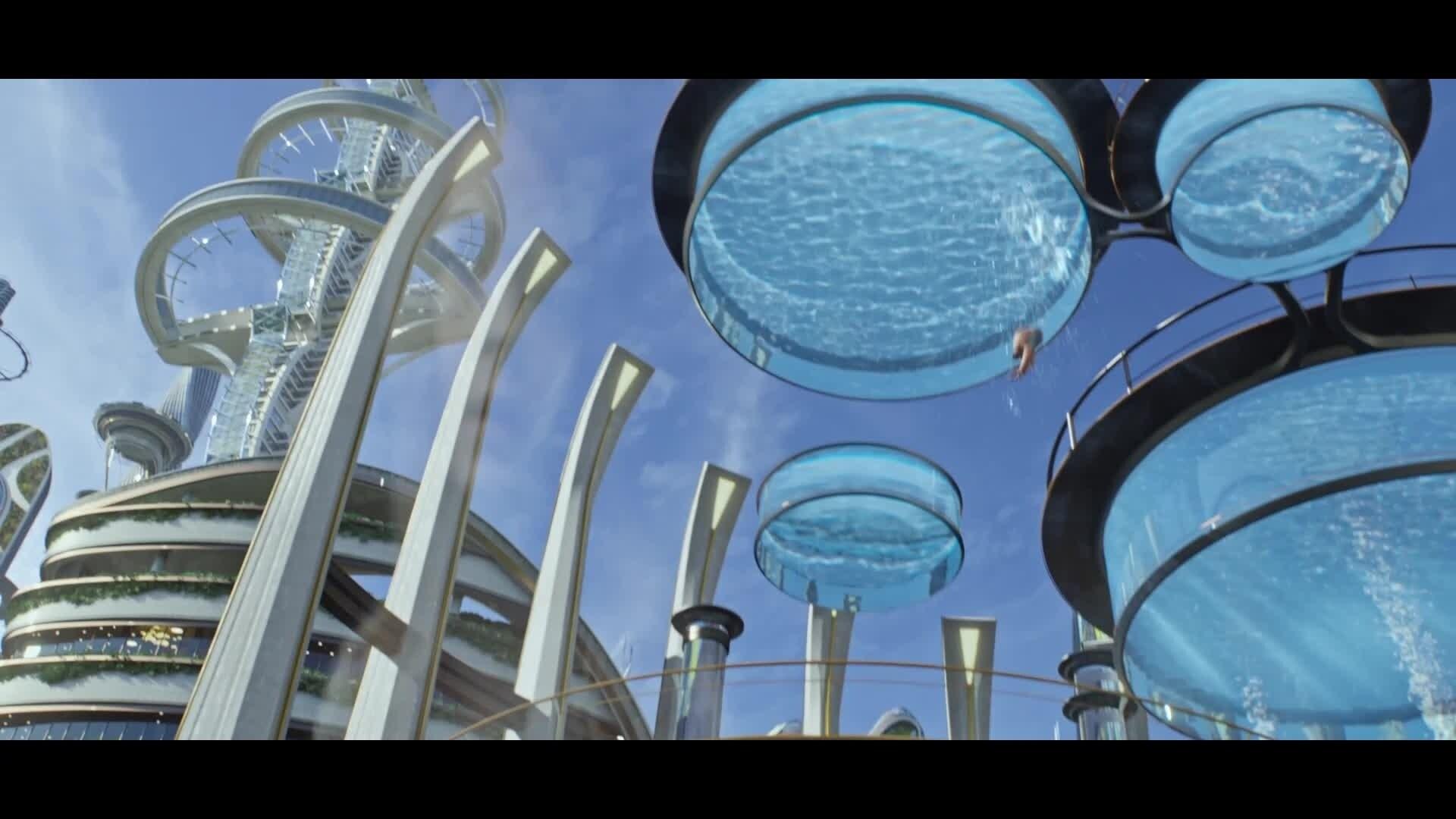 À La Poursuite De Demain - Extrait : Casey Visite Tomorrowland