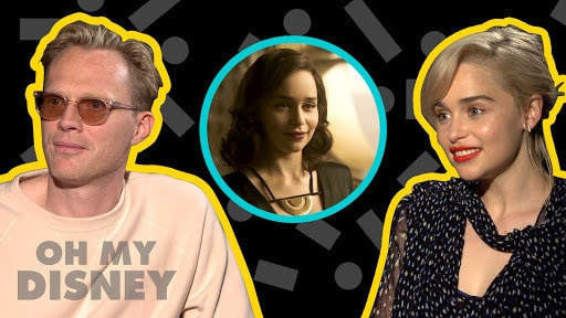 Emilia Clarke & Paul Bettany on Filming Solo: A Star Wars Story | Oh My Disney Show by Oh My Disney