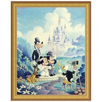 Image of ''Mickey and Minnie Wedding'' Giclée by Randy Souders # 8