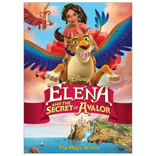 Elena and the Secret of Avalor DVD