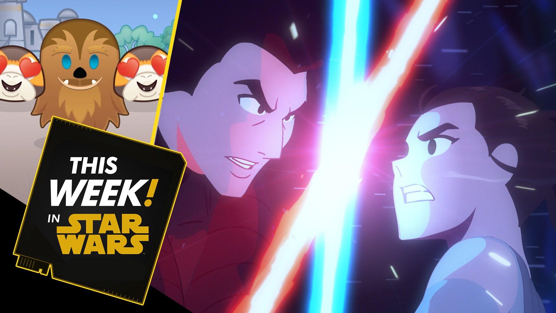 New Star Wars Galaxy of Adventures, Wookiee Hugs in Disney Emoji Blitz, and More!