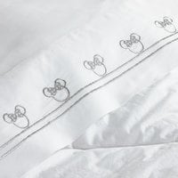 Image of Minnie Mouse Embroidered Sheet Set by Ethan Allen # 4
