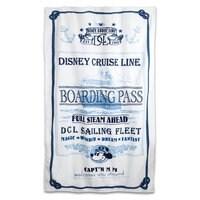 Captain Mickey Mouse Beach Towel - Disney Cruise Line