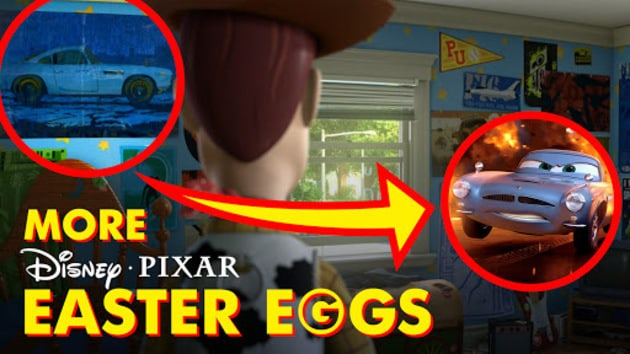 Pixar Easter Eggs Hidden Secrets You Never Noticed Pixar - 14 hidden things movies youve never noticed