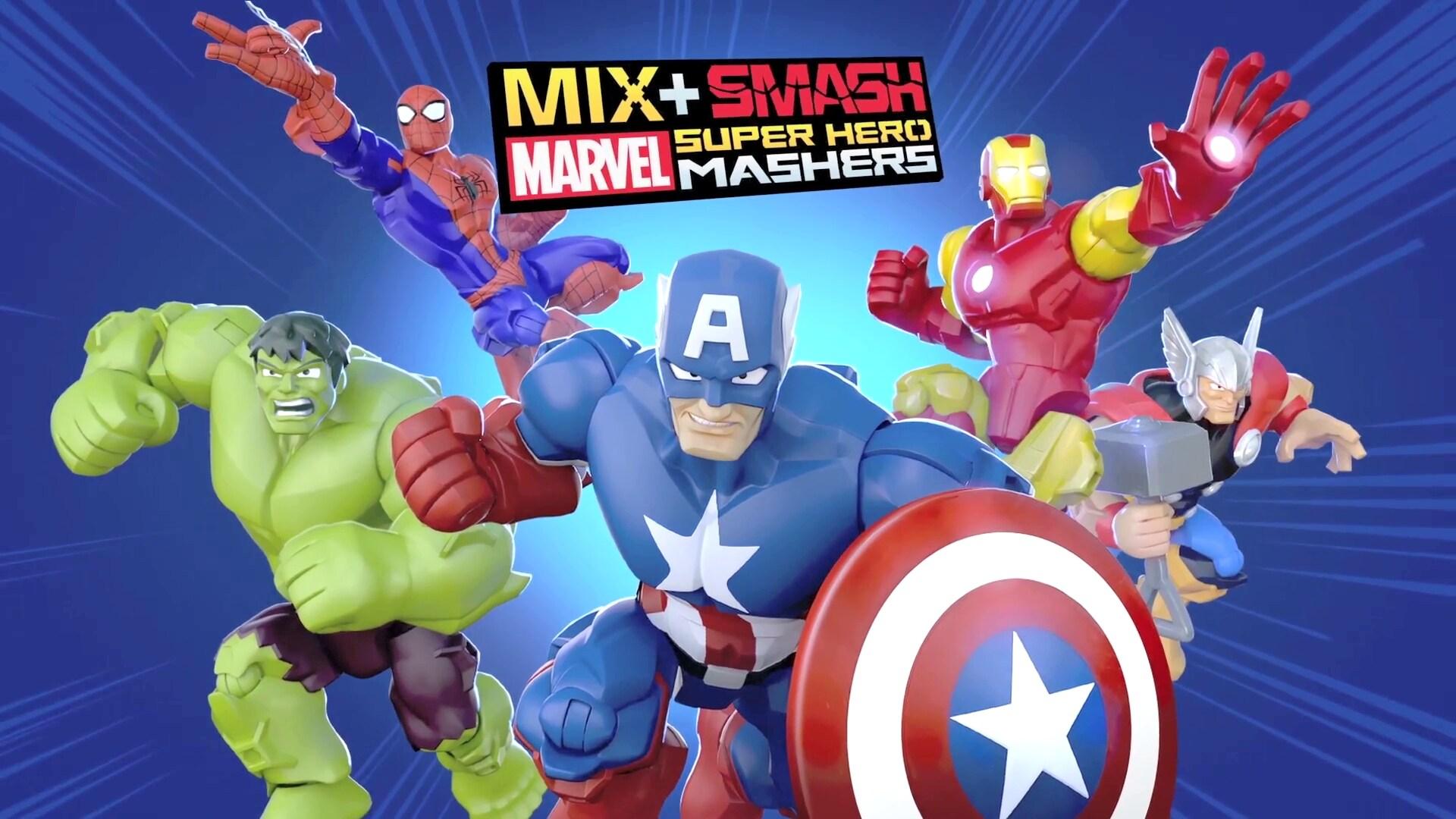 Mix + Smash: Marvel Super Hero Mashers App!