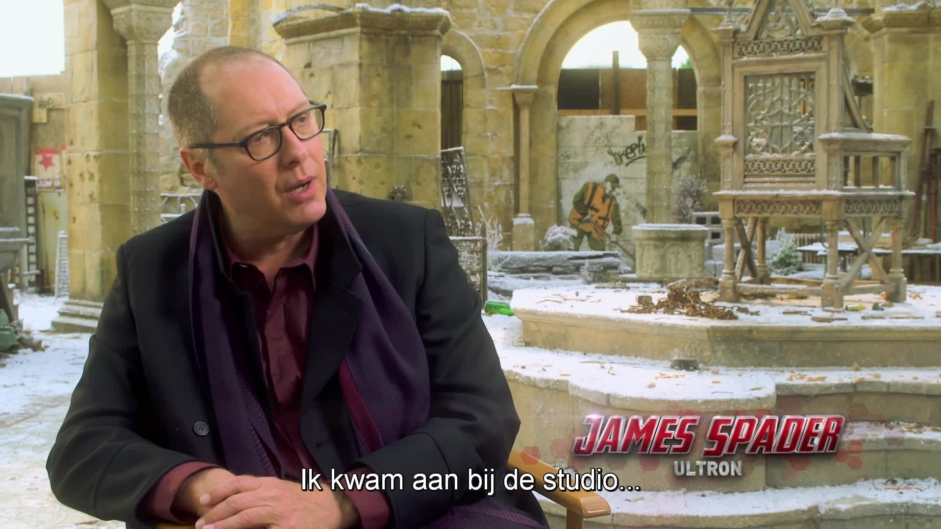Marvel's The Avengers: Age Of Ultron - Working with Spader