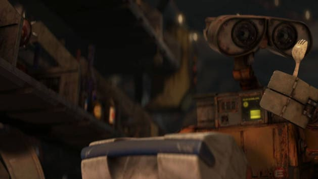 WALL-E's Collected Treasures