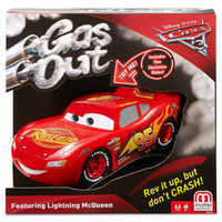 Image of Lightning McQueen Gas Out Game by Mattel # 2